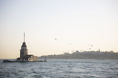 Bosforus Lighthouse (Uxía Vila) Tags: istanbul bosforus asia city lighthouse landscape sea turkey