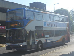 Stagecoach 18152 PX04 DPF (Alex S. Transport Photography) Tags: 18152 route7 stagecoachmidlandred transbus trident alexander alx400 bus outdoor road vehicle px04dpf stagecoach midland red