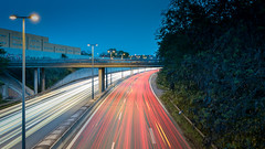Light trails (Massimo Buccolieri) Tags: car light trails long exposure night