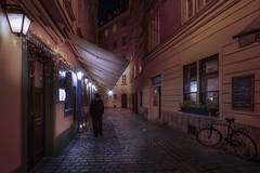 Walking Vienna (karinavera) Tags: travel sonya7r2 vienna people walking man road street photo austria night