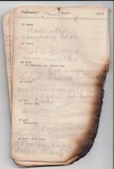 22-28 Feb 1915 (wheresshelly) Tags: ww1 wwi world war 1 australia gallipoli egypt military australian 4th field ambulance anzac morton wilfred