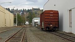 J&B Importers (Chris City) Tags: train railway railroad industry spur boxcar bnsf
