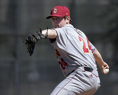 Yeo pitcher (Oberlin College) Tags: oberlincollege athletics baseball