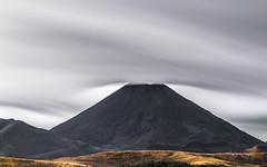 Mount Doom in disguise... (muzzpix-nz) Tags: nattypark ngauruhoe nationalpark mountdoom lotr longexposure tongariro clouds wind barren newzealand volcano volcanic lava leebigstopper lee9gnd leefilters