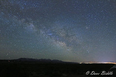A little of the Milky Way (littlebiddle) Tags: archesnationalpark night milkyway stars nature canon