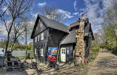 Hus på Syddyssen (KonHenrik) Tags: danmark denmark københavn copenhagen christianshavn hdr d7100 samyang8mm 2017 fristadenchristiania woodhouse