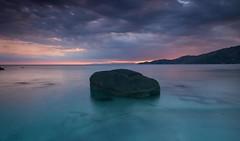 Sunset at Campu Longu-Villasimius (celestinoonano1) Tags: villasimius sardegna sardinia campu longu nature long exposition nikon d5300 tokina 1116 sunset
