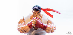 RYU (Photon-Huntsman) Tags: sony sonyalpha sonya6000 50mm f18 indoor streetfighter street fighter character colors toy ryu oss light lights lightroom depth field depthoffield winter old new red white wow