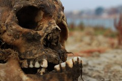 IMG_6230 (anthrax013) Tags: india varanasi corpse dead death bones skull flesh decomposition rot decay necro necrophilia