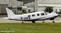 G-JAFS  PA32 Glasgow April 2017 (pmccann54) Tags: gjafs pa32