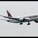 B787-8 | Qatar Airways | A7-BDB | HKG