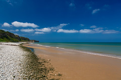 Omaha Beach (Alessandro Iaquinta) Tags: normandy landscape colours france nature dslr canon 2016 paesaggio sea eos blue