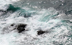 turquoise wave (1) (kexi) Tags: iceland europe water turquoise wave white rocks nature ocean atlanticocean wild north canon may 2016 latrabjarg abyss instantfave