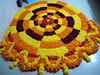 IMG_20160913_035856 (bhagwathi hariharan) Tags: onam pookalam flower rangoli kolam carpet floral nalasopara nallasopara virar aathapookalam tiruonam