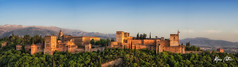 La Alhambra (Alfonso Beltran) Tags: alhambra sunset color colours granada panoramic panoramica cool palace