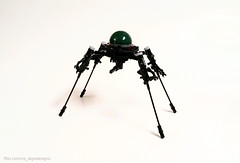/\/\ Probe /\/\ (NS LEGO Designs) Tags: nslegodesigns lego moc creation build alien vehicle proble space craft scifi ray