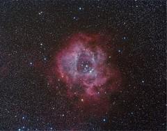 NGC2237 Nebulosa La Roseta (ACHAYA - Astrofotografías) Tags: ngc2237 nebulosa la roseta en monoceros achaya hacienda los andes rio hurtado astrometrydotnet:id=nova2048600 astrometrydotnet:status=solved