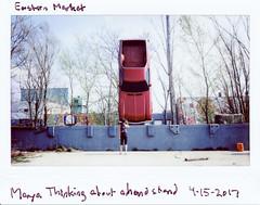 instaxwide-021 (elsuperbob) Tags: detroit michigan easternmarket detroitepitaph chevrolet elcamino art installationart abandoned emptyspaces instax instantfilm instaxwide300 fujifilm