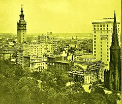 Looking northeast from the Flat Iron Building, NYC - 1905 (SSAVE w/ over 7 MILLION views THX) Tags: newyorkcity manhattan 1905 streetscenes flatironbuilding