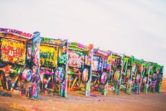 Time, Love (Thomas Hawk) Tags: amarillo america antfarm cadillac cadillacranch chiplord dougmichels hudsonmarquez route66 stanleymarsh stanleymarsh3 texas usa unitedstates unitedstatesofamerica auto automobile car graffiti us fav10