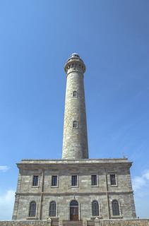Faro de Cabo de palos de frente