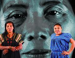 Rufina Venado and Emérita Sánchez, Ngäbe Bugle People (FAO of the UN) Tags: indigenouspeoples indigenouswomen ruralwomen indigenousfoodsystems traditionalknowledge exhibition