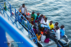 Going Back Home (Francois Saikaly Jr) Tags: green chitandele tanzania island rural volunteer volunteering blue water village villagers africa beautiful hospital boat locals 치탄델레 섬 탄자니아 아프리카 봉사활동 봉사자 병원선 호수 lake victoria 빅토리아호수 아프리카여행 마을 마을사람들 병원