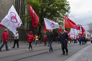 May Day Parade 2017, Limburgstraat, Ghent