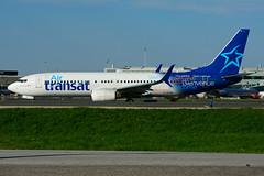 C-GTQB (Air Transat) (Steelhead 2010) Tags: airtransat boeing b737 b737800 yyz creg cgtqb