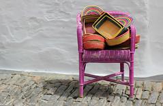 Monsaraz (hans pohl) Tags: portugal alentejo monsaraz chaises décorations advertising publicités