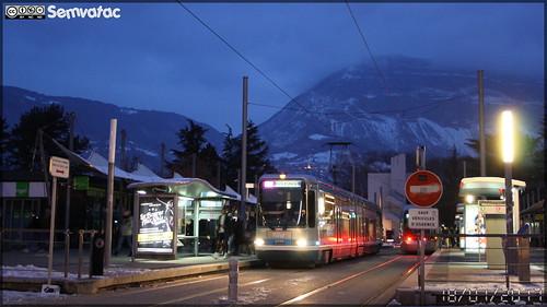 Alsthom TFS - Sémitag (Société d'Économie MIxte des Transports publics de l'Agglomération Grenobloise) / TAG (Transports de l'Agglomération Grenobloise)