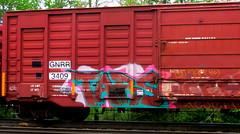 tars (timetomakethepasta) Tags: tars one freight train graffiti art boxcar gnrr benching selkirk new york photography