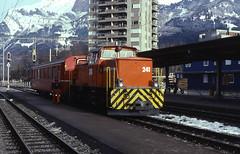 11.12.99 Landquart RhB 241 (philstephenrichards) Tags: switzerland landquart rhb rhatischebahn gm44 metregauge narrowgauge