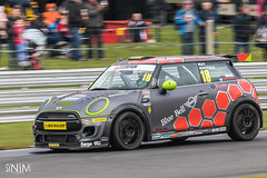 No. 18: Mark Wakefield (SiNiMiPhotography) Tags: 18 mark wakefield markwakefield excelr8 mini challenge jcw minichallenge minichallengejcw f56 minif56jcw john cooper works johncooperworks oulton park oultonpark