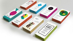 Edge Colored Business Card Templates