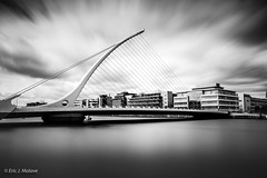 Samuel Beckett Bridge (ericjmalave) Tags: 2017 dublin easter ireland fuji