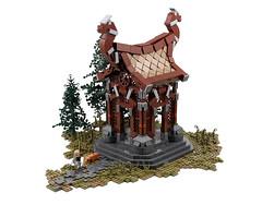 lego moc bricks eso teso elderscrolls skyrim wayshrine eastmarch tamriel nord pc game ps4 xbox