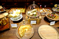 Assorted pastries (A. Wee) Tags: cathaypacific thepier firstclass airport lounge hkg hongkong 国泰航空 香港 机场 中国 china