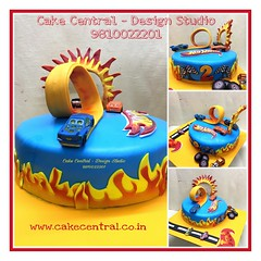 Hot Wheels Cake #hotwheels #cake  #firstbrthday #designercake #delhi #fondant #themed #kidscake #carcakedelhi #newdelhi #southdelhi #birthday #kids #noida #gurgaon (Cake Central-Design Studio) Tags: firstbrthday designercake delhi fondant themed kidscake