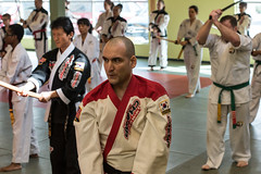 DCO_0311 (Eisbier) Tags: martial arts champ kwon grandmaster tae do hap ki sword sport indoors instruction nikon students anchorage alaska champmartialarts masterquest kumyedo kum ye korean usa
