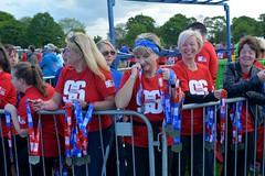 the ladies handing out the medals (James O'Hanlon) Tags: btr runfor96 run for 96 runforthe96 liverpool stanley park 5k race event lfc 2017 stars vip jft96 jft