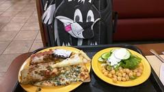 Pizza, Brownie, and Salad (Morton Fox) Tags: easton pa cicis food pizza buffet 510fav