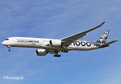 F-WXLV (@Eurospot) Tags: fwxlv a350 a3501000 airbus blaganc toulouse blagnac