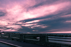 (Scarg) Tags: sea sky clouds light lights trapani sicilia sicily italy italia mare sunset tramonto seaside litoranea canon750d canon 750d p pollution landscape spiaggia