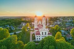 Raudondvaris church | Kaunas aerial #136/365