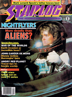 Starlog #117 (1987) - Nightflyers - More deadly than Aliens?