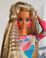 Barbie Totally Hair 1991 (Dollytopia) Tags: barbie totally hair doll mattel makeover longest crimped reroot restore 90s nostalgia icon best selling ever