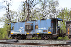CR 21283 Caboose (93M) (Trucks, Buses, & Trains by granitefan713) Tags: train caboose worktrain oldschool mow conrail cr baywindow rollingstock freightcar ns norfolksouthern