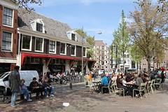 Café Thijssen Lindengracht/Brouwersgracht Amsterdam (Bobtom Foto) Tags: brouwersgracht lindengracht amsterdam café netherlands tourisme
