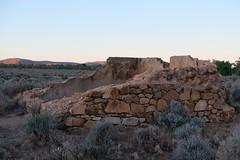 Nevada Hotel ruins (335semi) Tags: australia nsw brokenhill outback silverton fujixt2 pub nevada hotel ruins dusk